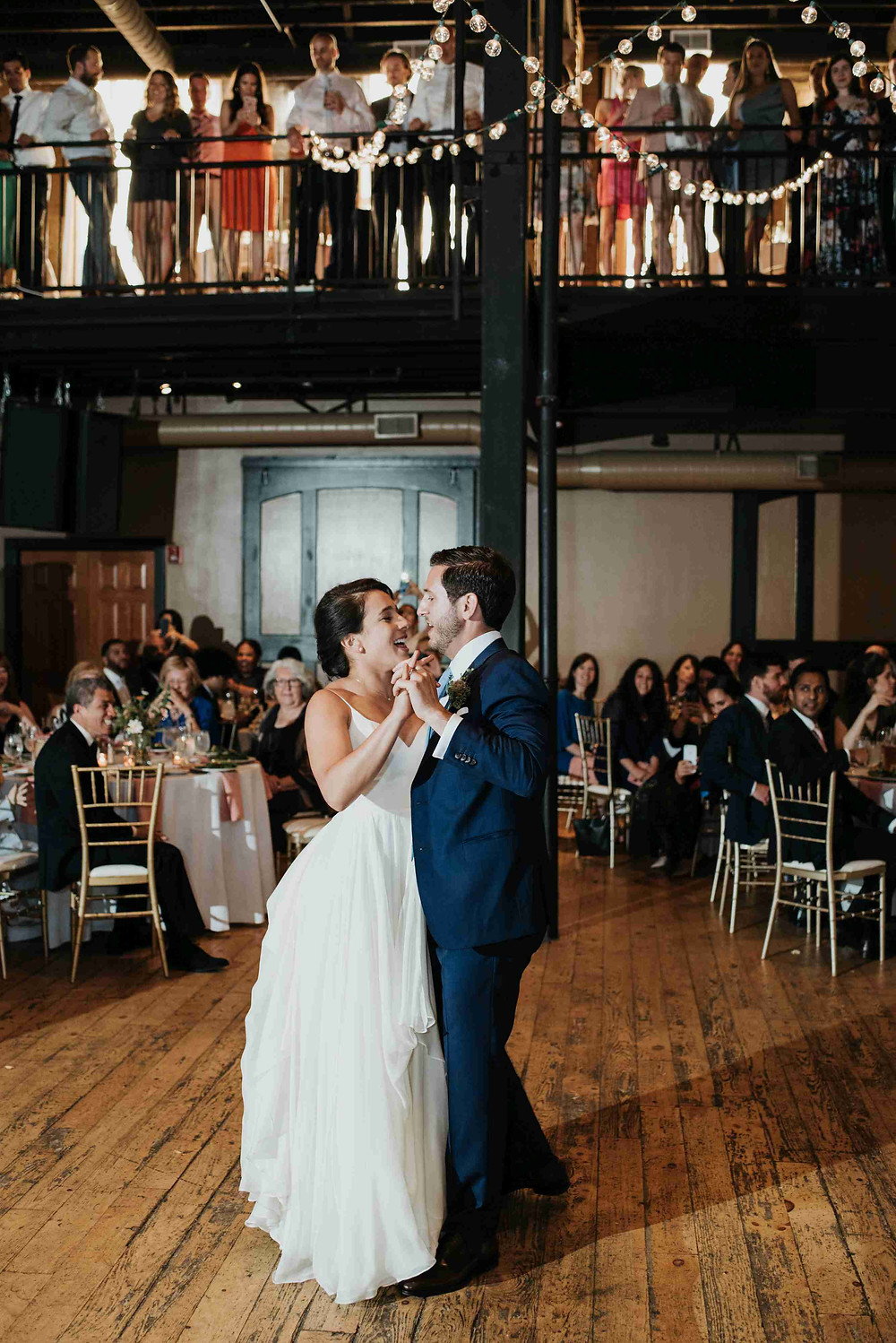 brown's revolution hall wedding