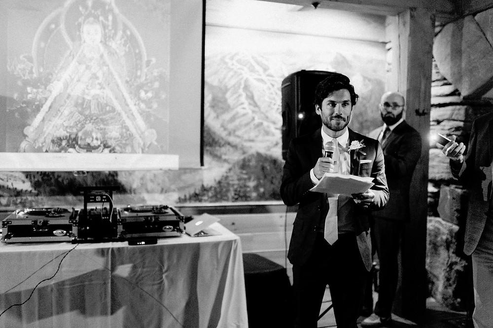 Wedding Speech -  DJ Ben Boylan