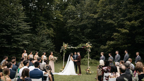 Foxfire Mountain House Wedding, Mount Tremper, NY for Jessi & Russ