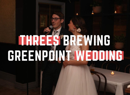 Threes Brewing Greenpoint Wedding, Brooklyn NY