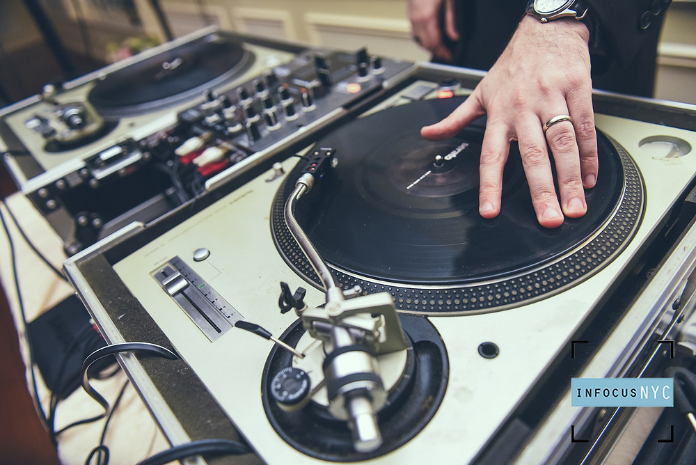 DJ scratching