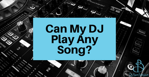 Can a Wedding DJ Play Any Song?