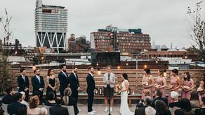 Dobbin St Wedding in Brooklyn, NY for Marisa and Justin