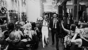 City Winery Wedding, New York, NY - Recap for Meredith & Tiago
