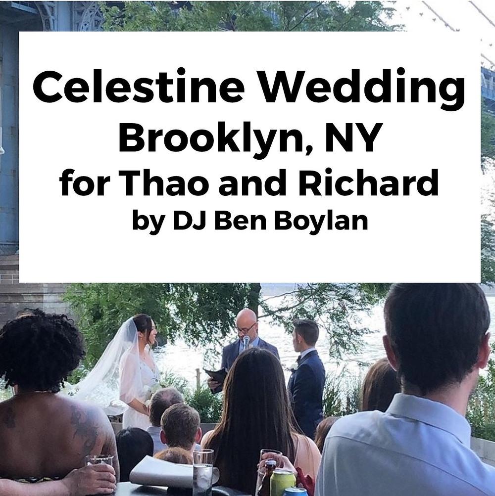 celestine wedding brooklyn