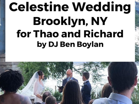 Celestine Wedding, Brooklyn, NY for Thao and Richard