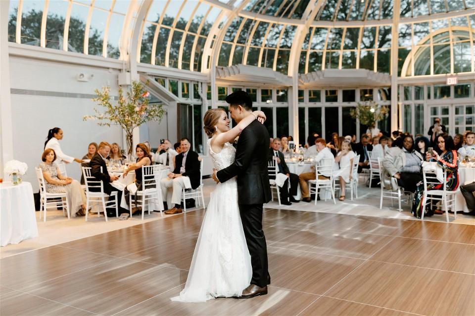 palm house brooklyn botanic garden wedding