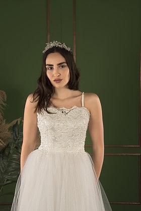 21507 Hand Beaded Wedding dress