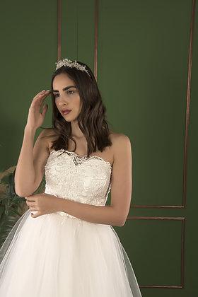 21502 Hand Beaded Wedding dress