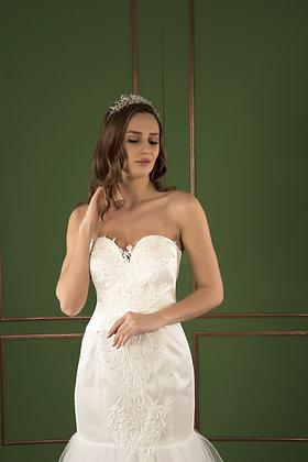 21523 Hand Beaded Wedding dress