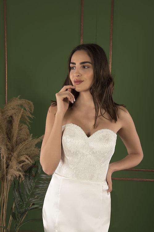 21520 Hand Beaded Wedding dress