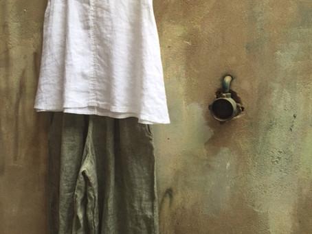 Linen linen everywhere! Wear it anywhere, everywhere.