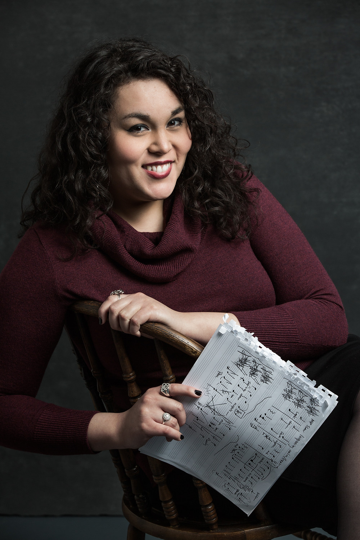 Composer Mari Esabel Valverde