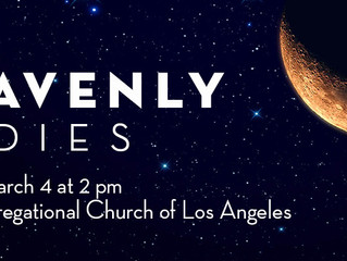 Read the program notes from our upcoming concert, Heavenly Bodies!