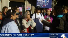 NBC: Choir Group Shows Support for Women's March Through Song