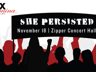 She Persisted starts VOX's 21st season with a bang!