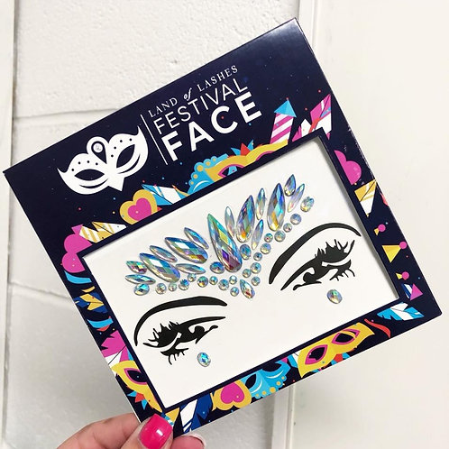 Festival Face: Iridescent