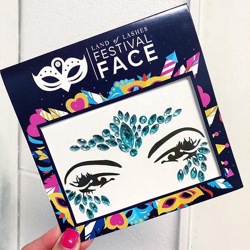 Festival Face: Blue