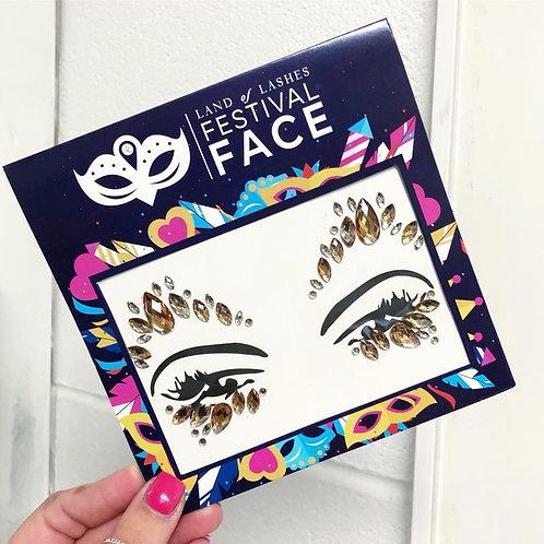 Festival Face: Bronze