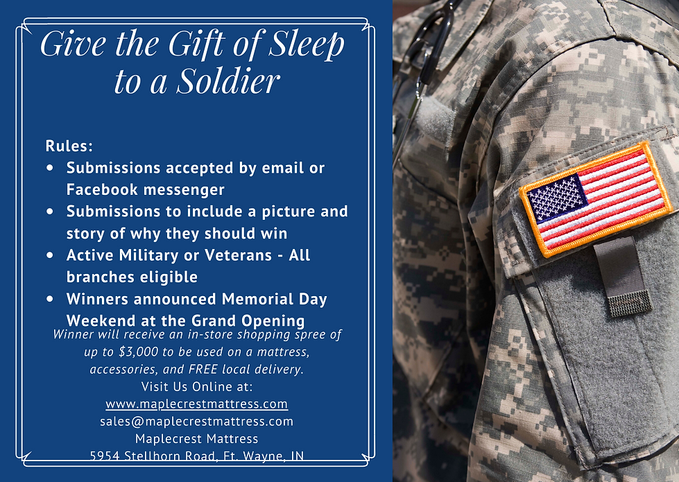 Give the gift of sleep 4.28.2020 - post.
