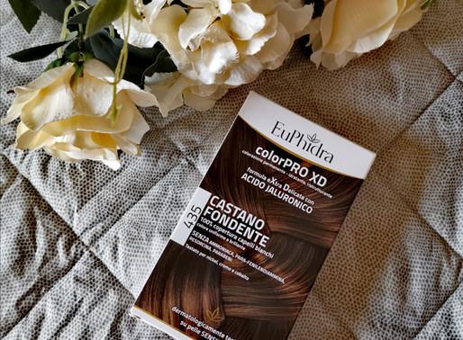 Tinta per capelli Euphidra colorPRO XD con acido jaluronico.