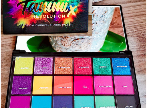 REVOLUTION  Tropical carnival palette   TAMMIX