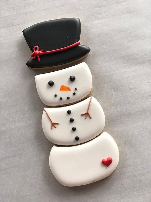 Build A SnowMan Set