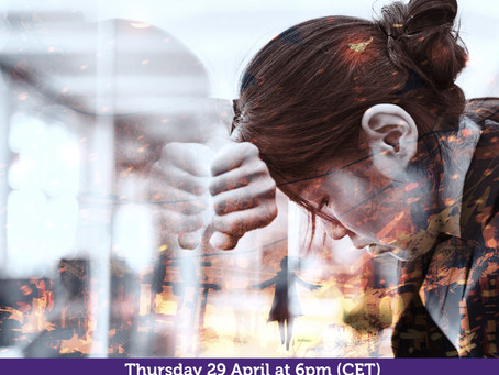 Humani-Topic I Burnout in the Humanitarian Sector Part II with Kate Roberts I 29 April at 6pm (CET)