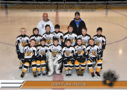 Grant Fuels Novice Hockey
