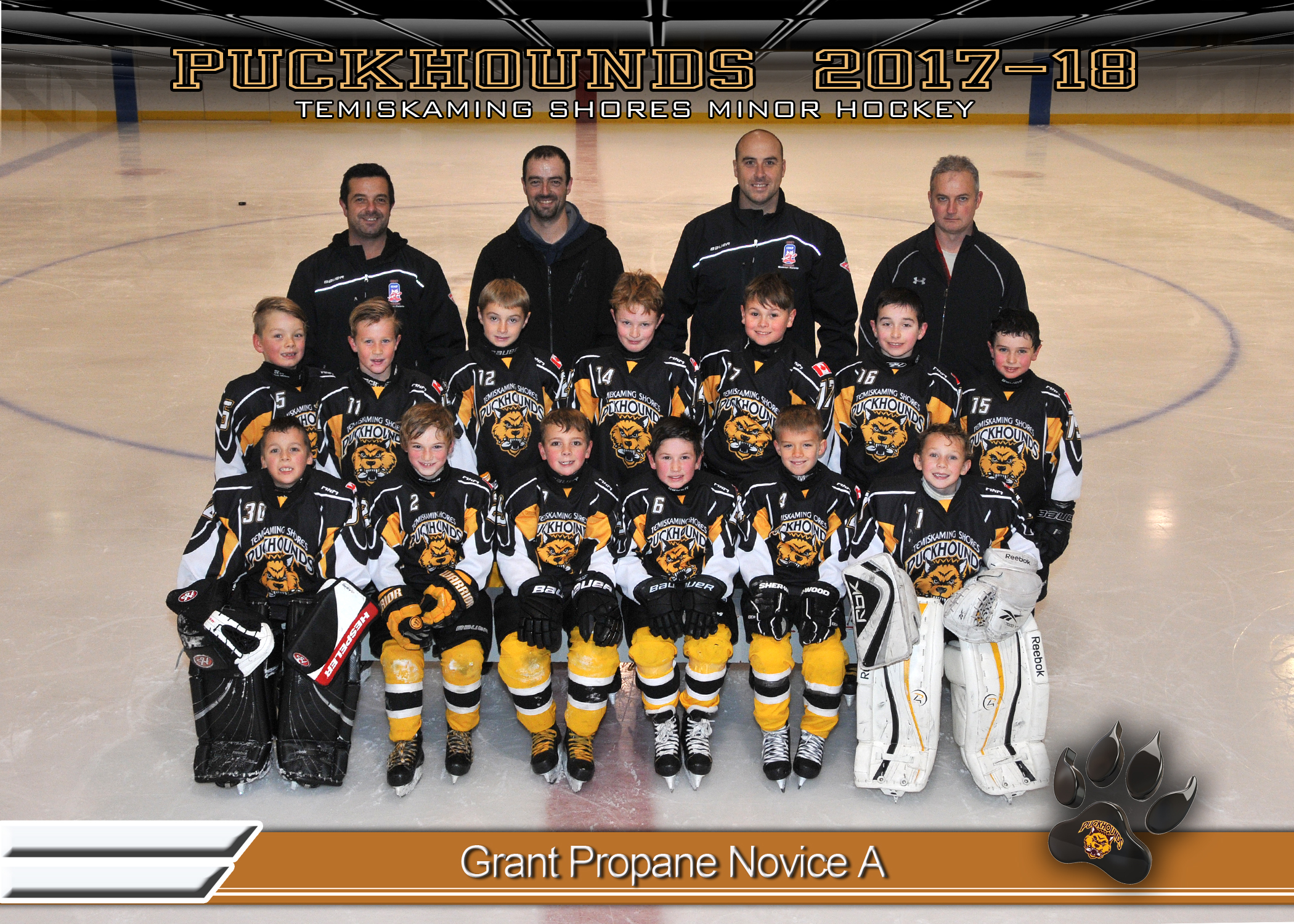 Grant Propane Novice Hockey