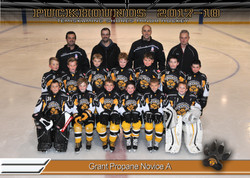 Grant Propane Novice Hockey
