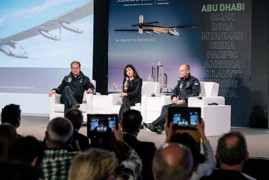 Solar Powered Plane Confrence