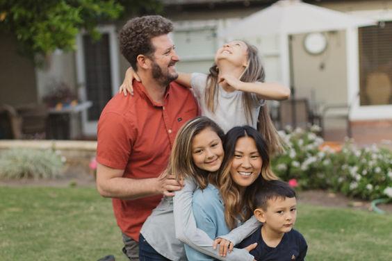 Solar family outside