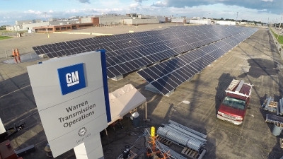General Motors (GM) 900 kW Solar Array