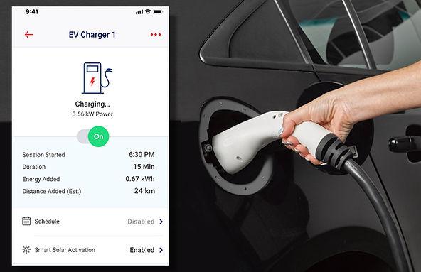 SolarEdge EV Charging App