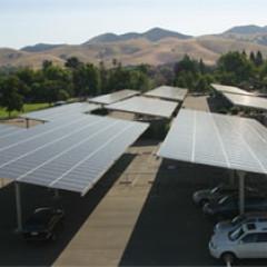 solar parking structor