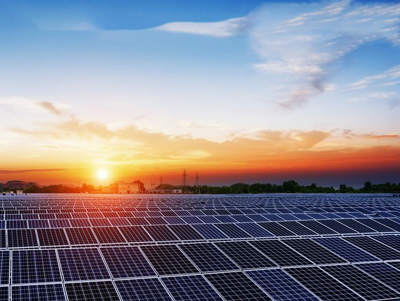 commercial solar project sunsetting