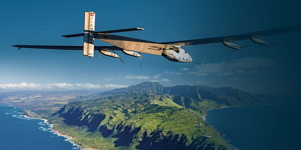Solar Impulse Flying From China to Hawaii