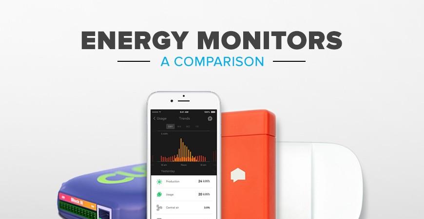 Energy Monitors Comparison