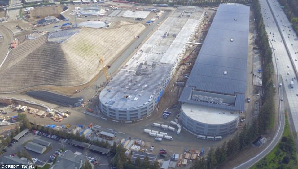 Apple Solar Parking Garage