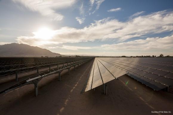 ground mounted solar panels gigawatt