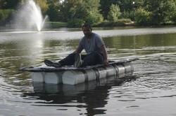 Recyclable Boat Race-2012