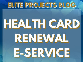 HEALTH CARD RENEWAL E-SERVICE