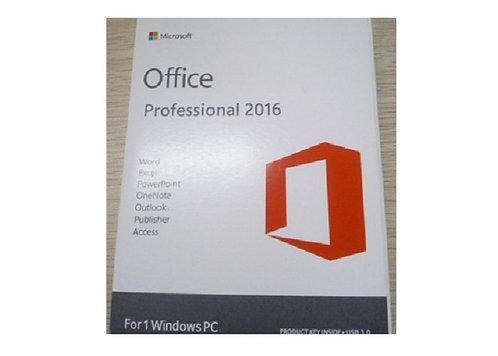 Cartão Office 2016 Professional - Pro