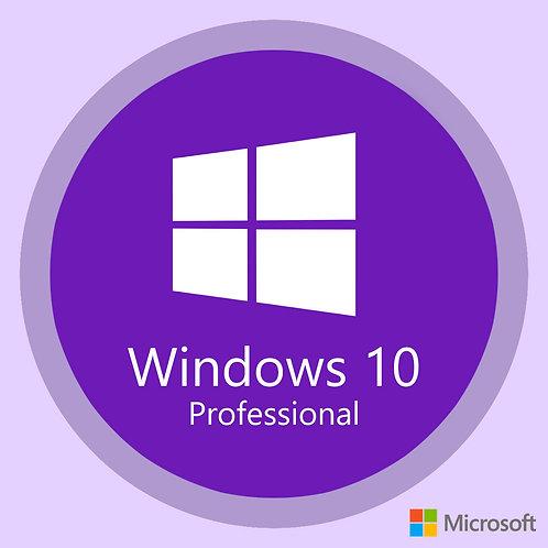 Chave Licença Windows 10 Professional - Novo FPP Vitalicia Pro