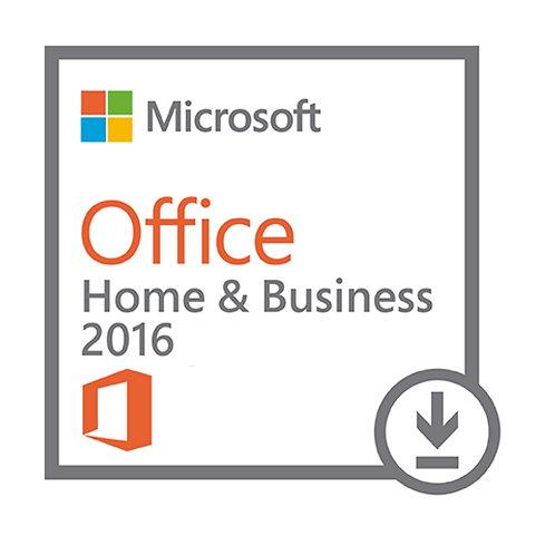 Cartão Microsoft Office Home And Business 2016