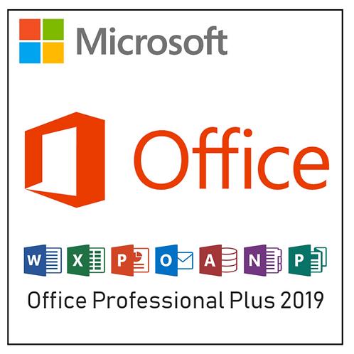 Cartão Microsoft Office 2019 Professional - Pro