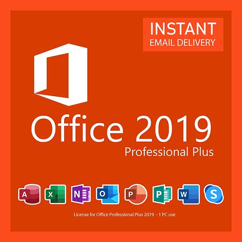 Chave de Ativação Microsoft Office 2019 Professional - Pro Perpetua.