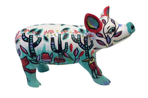 PP-D1423 - Cactus plants mini pig