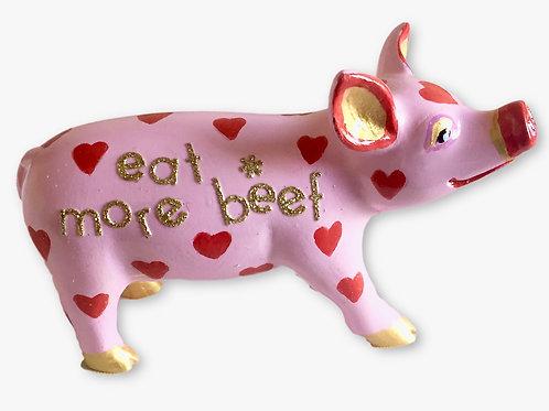 eat more beef mini pig - PP-R1420